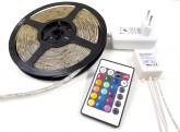 Led pásek Premium RGB 36W kompletní Set s dálkovým ovladačem