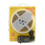 LED pásek, bílá, zdroj+vypínač