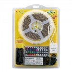 LED pásek, RGB, zdroj+kontroler