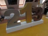 Styrodur 3D písmena s lakem - plasticita 100 mm