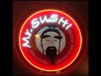 Mr Sushi - Neony na dibondu s výřezy
