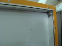 Tvarované Dibond desky s vniřní alu konstrukcí a polepem
