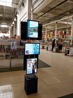 Ukázky prací - Auchan supermarket, Rumunsko