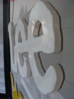 3D písmo z plexiskla soulep