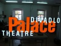 Divadlo,Theatre 3D písmo Blok LED, plasticita 23mm, Palace 3D písmo EU-05 s LED prosvícením