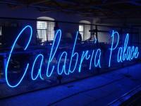 Calabria - Neony 25mm na síti 8x2m