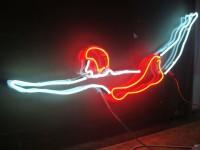 """Neonový piktogram """"Plavkyně"""""""